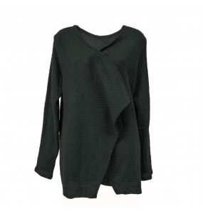 Ethiopia _Thread  Made Women's  Open Front Sweater
