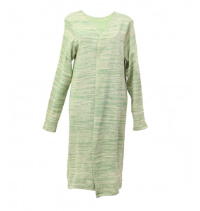 Ethiopia_Women's Over Size  Open Front  Knee Length Sweater