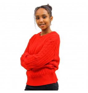 Ethiopia _Unisex Thread Made Crewneck Sweater