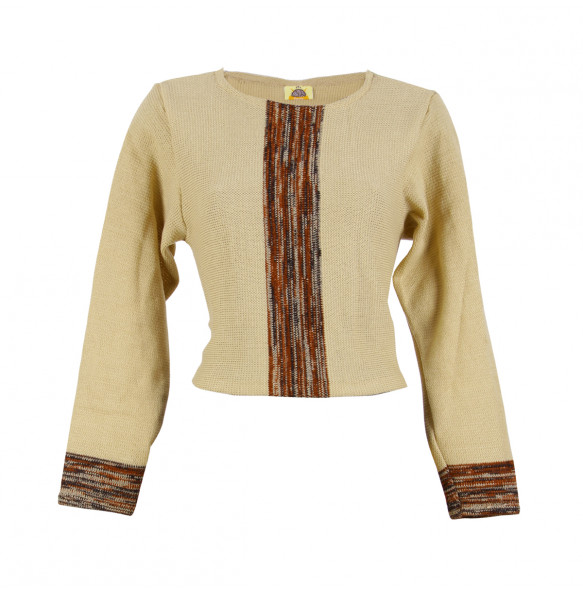 Ethiopia_ Women's Thread made  Sweater and Skirt Two -Piece Knit Set