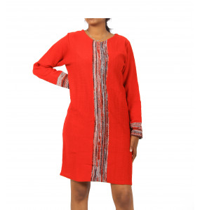 Ethiopia_ Thread Made  Women's Long-Sleeve Dress