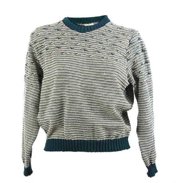 Ethiopia_ Women's Thread Made Crewneck Sweater