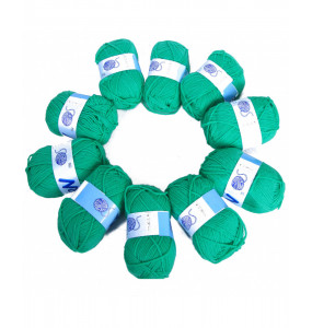100% Synthetic Fiber Yarn  (pack of 10)