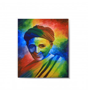 Acrylic Canvas  Colorful  Painting Wall Art (ገጽታን በቀለማት)-60*80