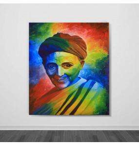 Acrylic Canvas  Colorful  Painting Wall Art (ገጽታን በቀለማት)-60*80