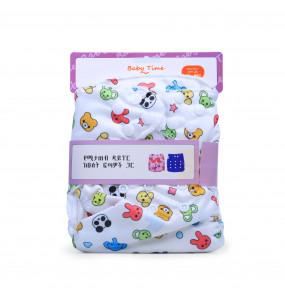 Baby Time Reusable Cloth Diaper 3kg-18kg