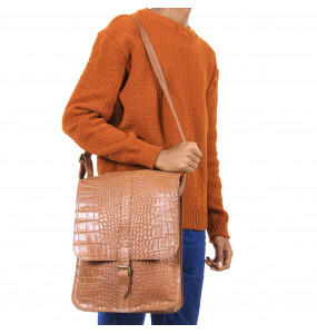Nadiy _Genuine Leather Laptop Bag (34cm*26cm)