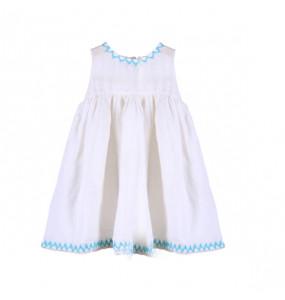 Emnet_ Kids Cotton Sleeveless Dress