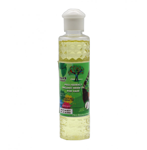 Pika Organic Neem Hair Oil