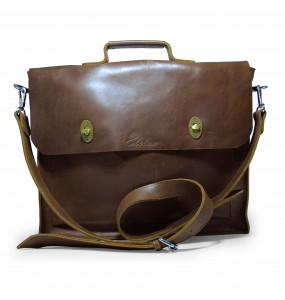 Elean Genuine Leather Laptop Bag