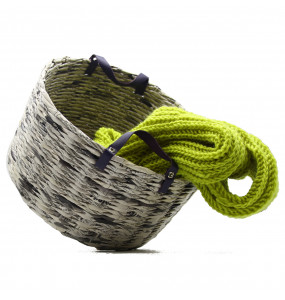 Hana_Made of  Paper-Recycled Cloth Storage Basket