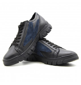 Tesfalem_ Men's Genuine Leather Lace-up Style Shoe