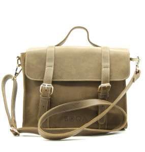 BOQA Genuine Leather  Shoulder Bag/ Handbag