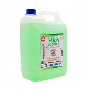 ZEQUALA Hand Sanitizer (5L)