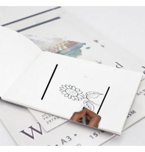 SINARLINE Drawing Book ( 18 Sheets)