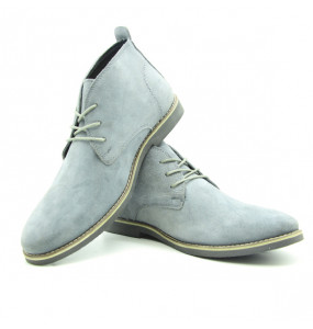 Feya Men's  Genuine Leather  Short Boots Shoe