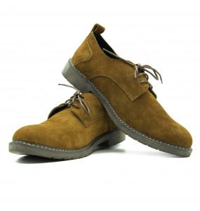 Feya Men's Genuine Leather Lace-Up Shoe