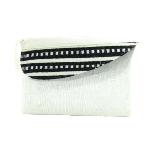 Kef kef  Women's Hand made Traditional Fabric Hand Bag/Wallet