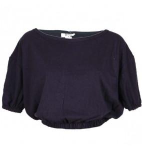 Samuale _Woman's Cotton Half Sleeve Crop Top Shirt