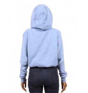 Samuel_ Women's Long Sleeve Crop Top Hoodie
