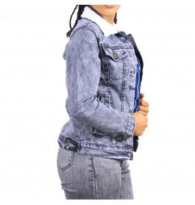 Samuel_ Women's Long Sleeve Jeans Jacket
