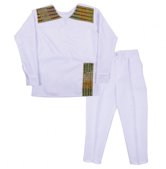 Tesfaye_ Cotton Traditional Kid's Suit