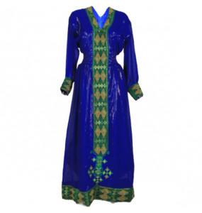 Mohamed_ Women's Chiffon Traditional Dress