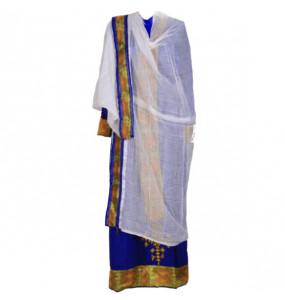 "Mohamed_ Women's  Chiffon Traditional Dress With ""Full Size Netela"""