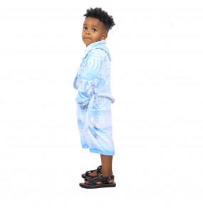 Msraki_ Kid's a Hooded Cotton Robe