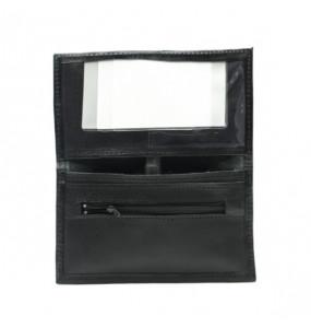 Yishak _Genuine Leather Black Women's Wallet