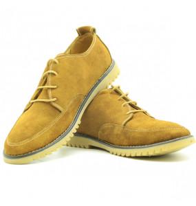 Eyobe_Men's Leather Lace -Up Shoe