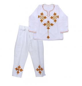 H/Gebriel _100% Cotton Traditional Kid's Suit