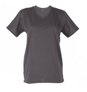 Eshetu_ Men's 100% Cotton V-Neck T-Shirt