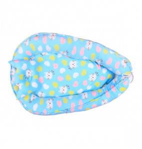 TIGIST- 100% Cotton Portable Crib For Bedroom/Travel