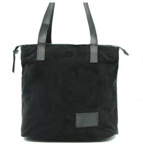 KASSAHUN_ BLACK VELVET BAG