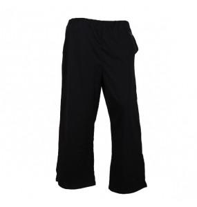 Hana_ Women's Cotton Open Leg Fleece Sweatpants with Long Sleeve Crew Neck T Shirt Set