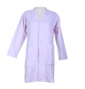 Beshada_ Uniforms Unisex Long-sleeved White Lab Coat