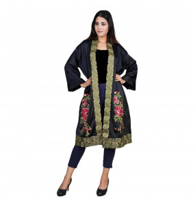 Hanan, Rose Flower Gown Abaya
