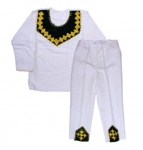 Zinashe_ 100% Cotton Traditional Kid's Suit
