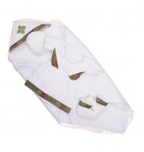 Fikremariam _Cotton newborn baby Girl Cloth set