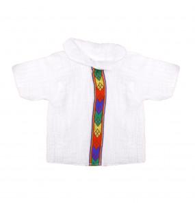 FIKRMARIAM _COTTON NEWBORN BABY TRADITIONAL CLOTH SET (5PCS)