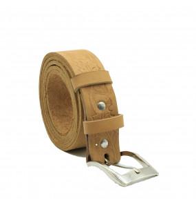 Minaleshewa_Men's Classic Leather Dress Belt