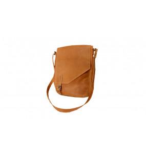 TIRU, Brown Large Laptop Bag