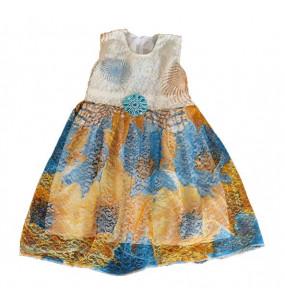 Markon_ Yellow Kids Dress