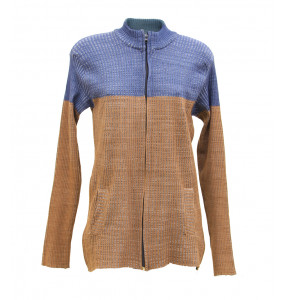Atsedu_ Women's Zipper Closure Sweater