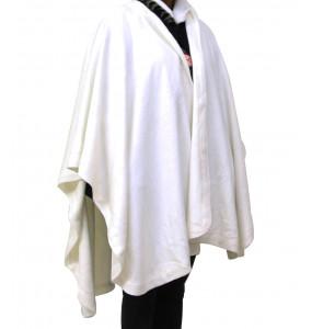 Atsedu_ Alpaca Blend, Sleeveless  Ruana Cloak Poncho for Adult Women