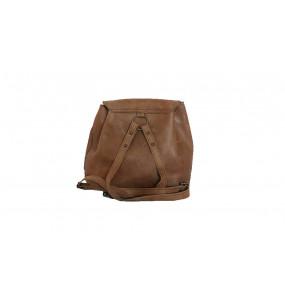 TIRU_  Women's Brown Backpack Bag
