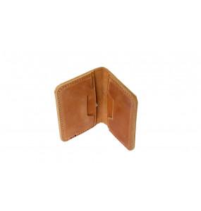 TIRU_  Brown ATM Card Wallet