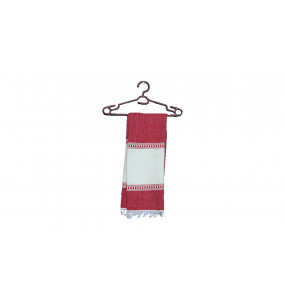 Marta_ Red Traditional Scarf