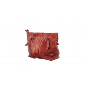 TIRU_  Red Brown Women's Bag